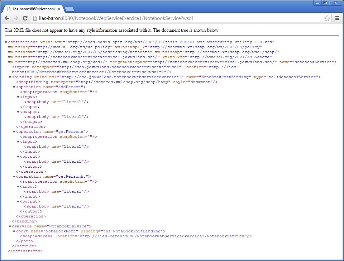 Tutoriel sur le développement de services Web avec JAX-WS et